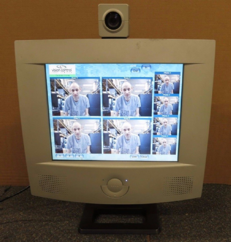 Vision Control Optometry Equipment LCD Monitor And Camera for Opticians